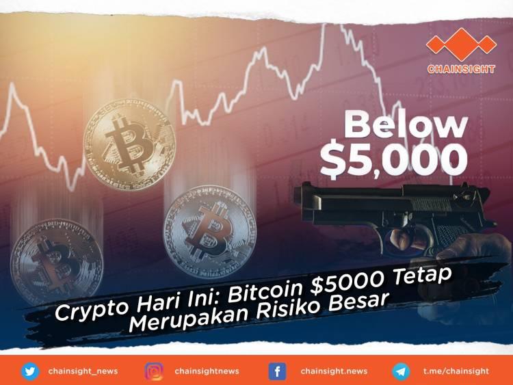Crypto Hari Ini: Bitcoin $ 5000 Tetap Merupakan Risiko ...